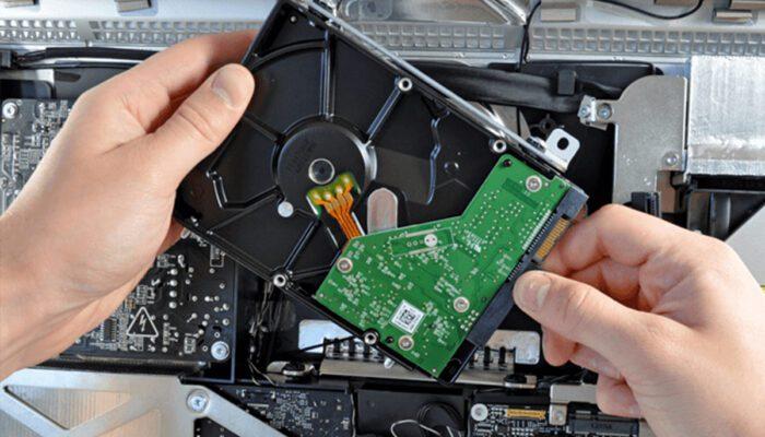 Blæseren larmer i min iMac efter udskiftning af harddisk