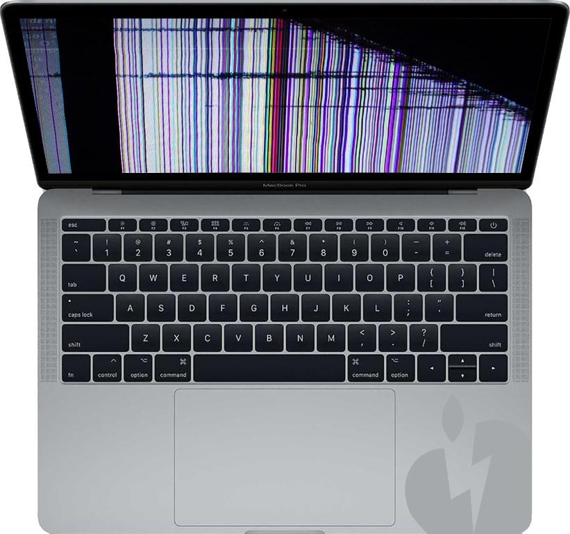 Reparation af skærm på MacBook Pro